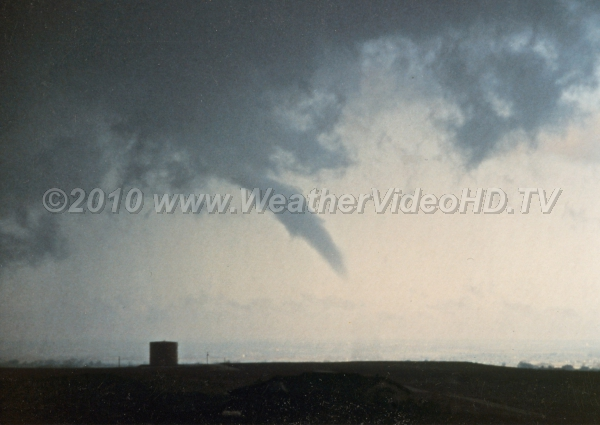 Tornado A funnel more than half way to the ground is generally classified as a tornado