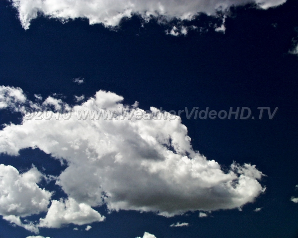 "The Cumulus The most recognizable of the cloud types Latin name means ""heap"" or ""pile"""