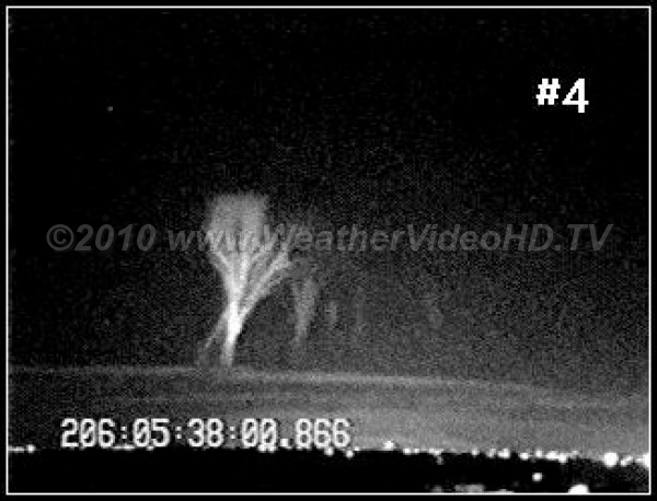 Distant Sprite Freeze frame from monochrome video of a sprite some 600 km distant