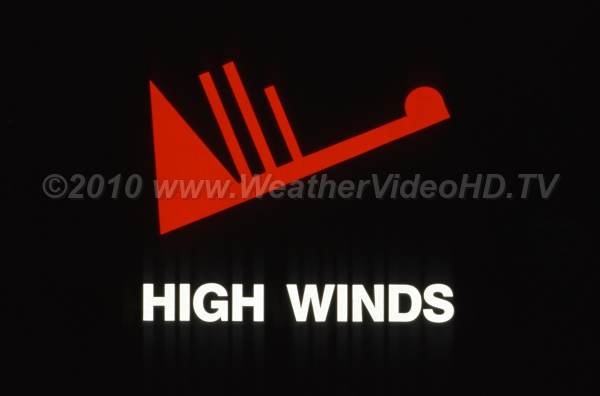 Weather Symbol - High Winds The weather map plot representing a 75 mph (hurricane force) sustained wind