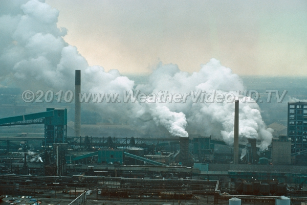 Heavy Industry Circa 1970 Air quality has improved