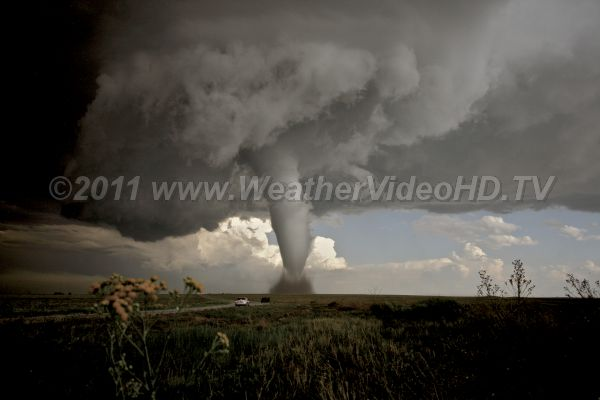 Terrifying Beauty One of the most beautiful tornadoes of the 2010 season