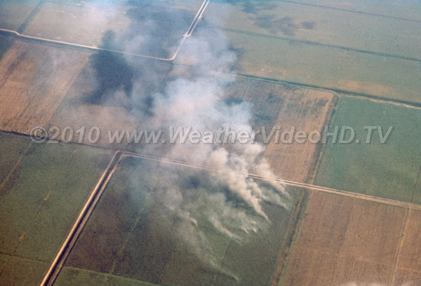 Burning the Glads Agricultural burns in land reclaimed from Everglades create smoke palls