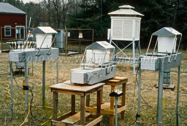 Acid Rain Measurements During the 1980s, special devices were developed to capture samples of acid rain for study