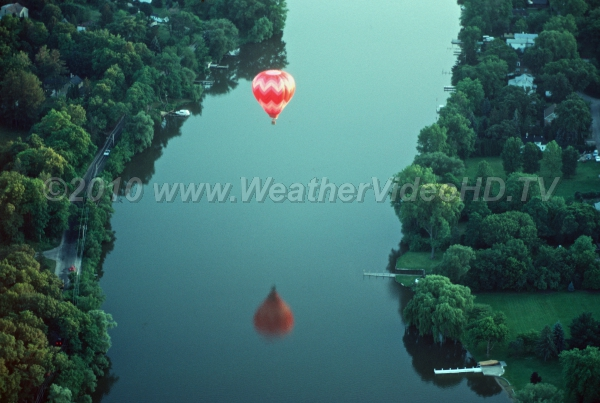 Light Winds Hot air balloons have difficulty taking off and especially landing in winds over 10 mph