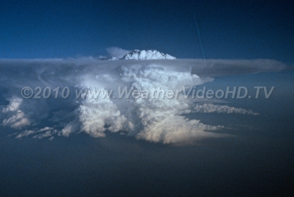 Do Not Penetrate Aircraft penetrating this supercell may well discover 100 mph updrafts