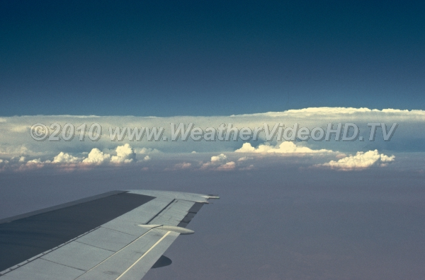 Circumnavigating Trouble Jetliners usually fly around most deep convective clouds and squall lines