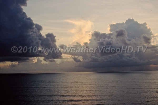 Gulf Stream Convection Dawn reveals the remnants of nocturnal convection over the warm Gulf Stream off Florida