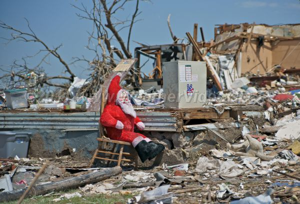Tornado Santa Chirstmas in July would be welcome relief to the victims of the spring, 2011 tragedy