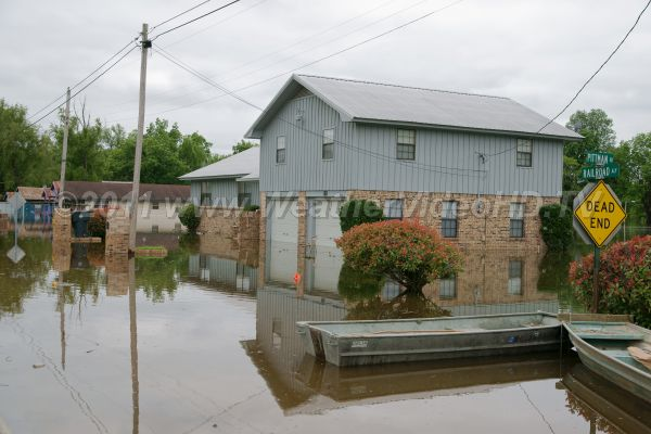 Flooded lowlands Do you know your flood potential? Do you have national flood insurance?