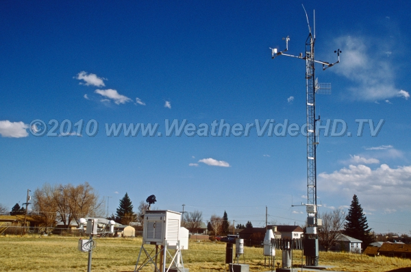 Surface Weather Observing CIrca 1990 - surface wind, temperature, precipitation, and humidity observations