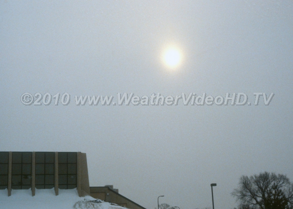 Frosted Sunlight Altostratus can be distinguished from cirrostratus as the sun will shine as through frosted glass.
