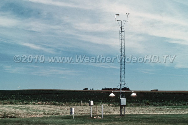 Weather Station Sicne the 1970s, there has been a vast increase in the number of automated weather stations