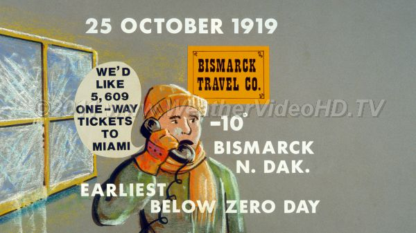 Weather Diary  25 October 1919 Too Cold, Too Early.