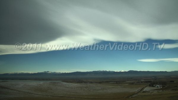Big Banner A massive banner cloud streams eastward from the crest of lee waves downwind of the Colorado Front Range