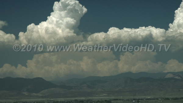 Mountain Thunderstorms Thunderstorms form over mountain ridges and rise out of a polluted boundary layers