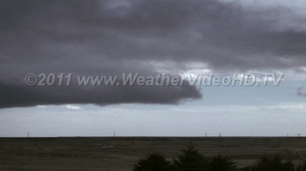 Squally Weather A cold frontal passage brings snow squalls on the plains