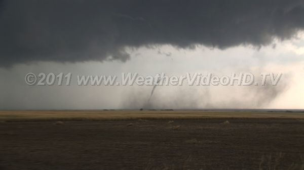 Roping Out The final stages of a tornado\