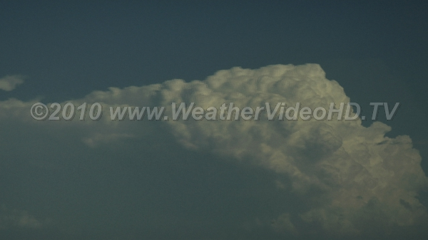 Thunderheads Successive updrafts form line of thunderstorm cells