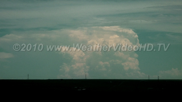 Distant Thunderhead Clear skies allows vieiwng CB cloud more than 200 km away