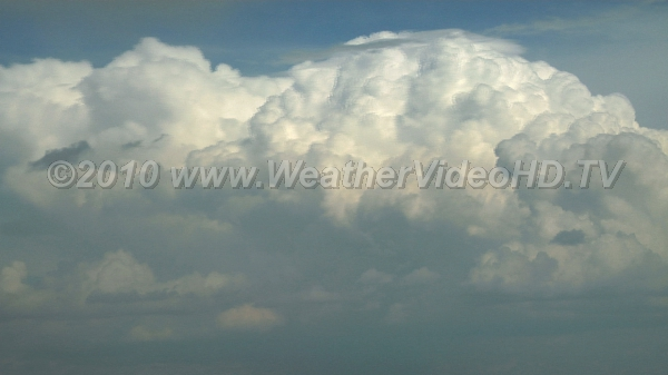 Towering Cumulus TCU in a strong wind shear just about graduating to CB status