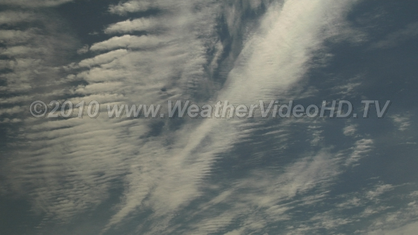 Contorted Winds Time lapse reveals complex motions in an apparently placid summer sky