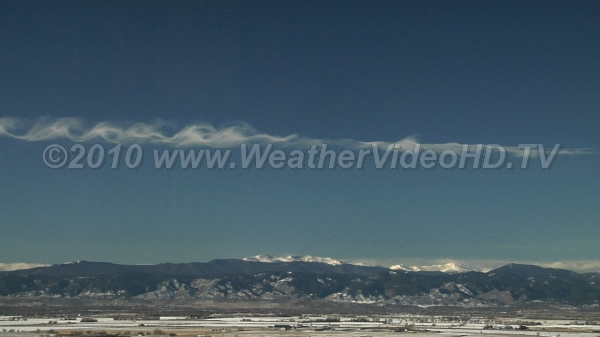 Classic Kelvin-Helmhotlz  Breaking K-H waves due to extreme wind shear