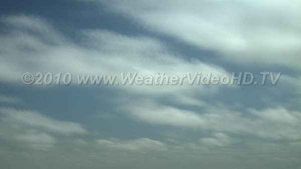 Clearing Stratocumulus layer gives way to drier airmass