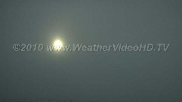 Altostratus Sun appears as if shining through frosted glass in typical display