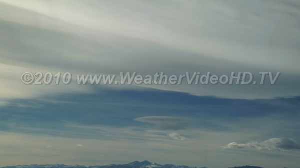 Mountain Waves Mountain wave banner clouds, lenticulars and rotors due to strong wind flows