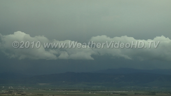 Upslope Thundershower Moist easterly winds slam into the Front Range and an intense rainstorm results