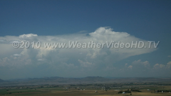 Mountain Storms Deep convection boils up over mountains with daytime heating