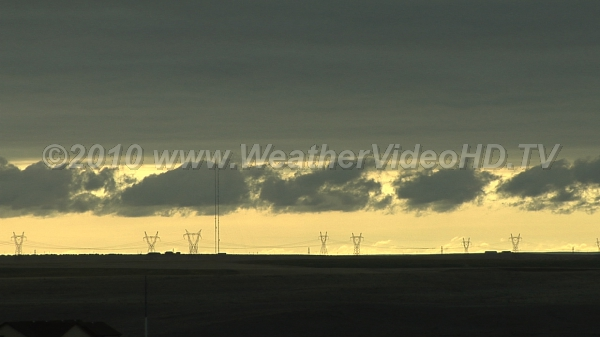 Low Clouds in the Morning Fragments of scud under a layer of stratocumulus at dawn