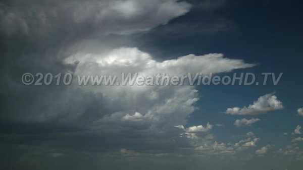 Anvils are Born Anvil outflow aloft is fed by low level inflow of moisture in strongly sheared atmosphere