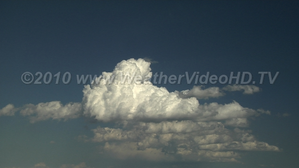 Dissipation As daytime heating wanes, so does the intensity of cumulus convection