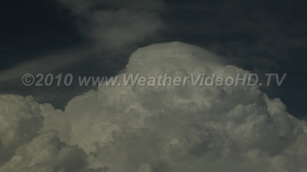 Growth Stage Convection rapidly developing towards CB stage with extreme updrafts