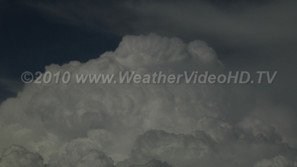 Cloud Turrets Boiling tops of convective clouds mark updrafts punching ever higher