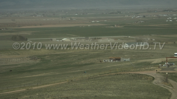 Blowing Dust! Strong, dry northerly winds pick up loose top soil
