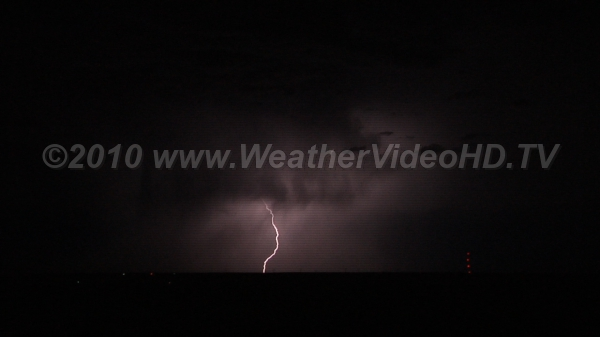 In-Cloud and Cloud-to-Ground Lightning flashes both in the cloud and to the ground