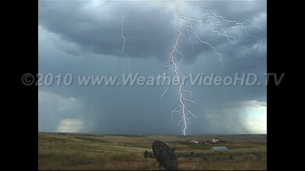 Prairie Storm Multiple Stroke Cloud-to-Ground Lightning