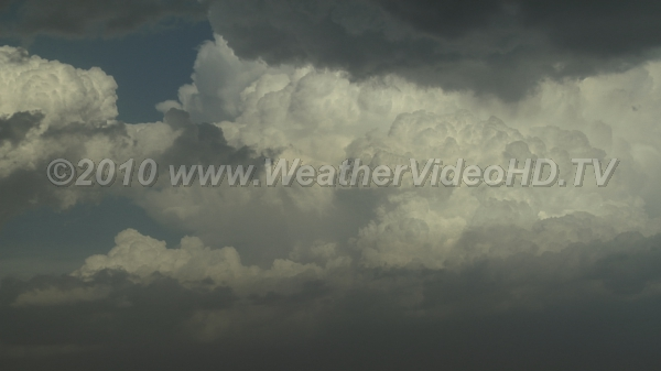 Thunderstorm Updrafts Intense upward motion in towering cells making up part of a thunderstorm