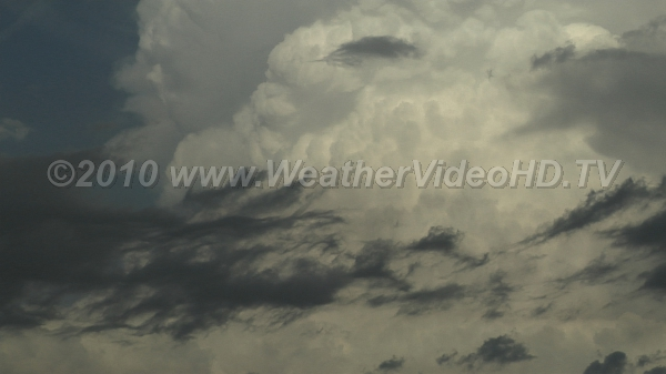 Updrafts in Supercell Rapidly developing convective storm