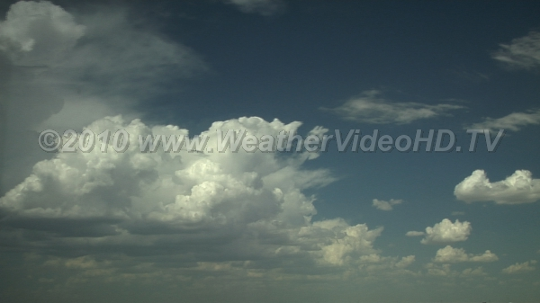 Thunderstorm Life Cycle Storm development from  cumulus updraft through mature stage