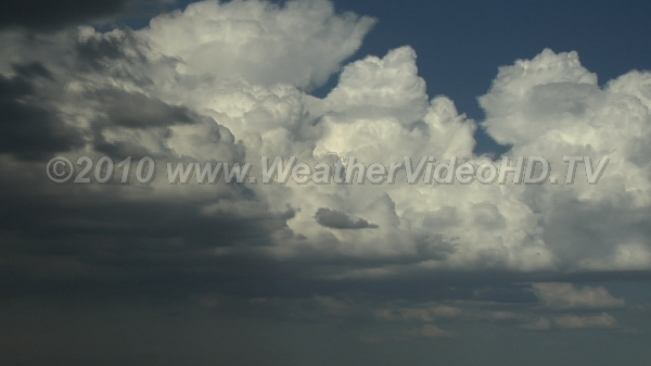 Thunderstorm Life Cycle Storm development from cumulus through mature stage
