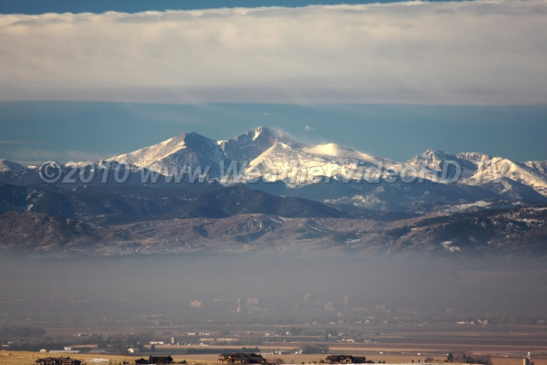 Dirty Mountain Air Strong surface-based inversions trap pollutants lee of the Front Range