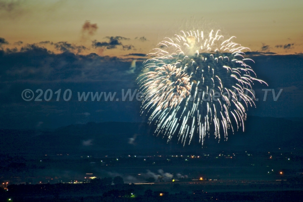 Fire and Smoke Holiday fireworks can cause atmospheric aerosol concentrations to peak