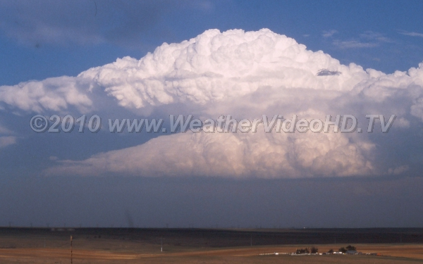 Supercell A mature supercell on the High Plains dry line